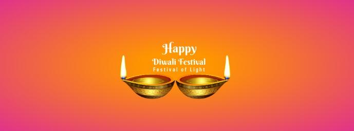 Diwali Festival 4 Facebook Cover Photo template
