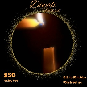 DIWALI FESTIVAL POST