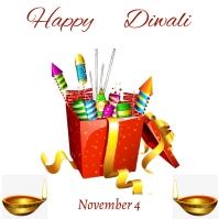 Diwali flyer 6 Iphosti le-Instagram template