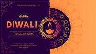 Diwali flyer 演示(16:9) template