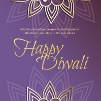 Diwali Greeting Message Instagram template