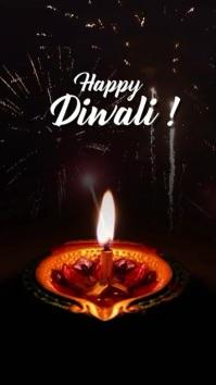 Diwali greeting Instagram-verhaal template