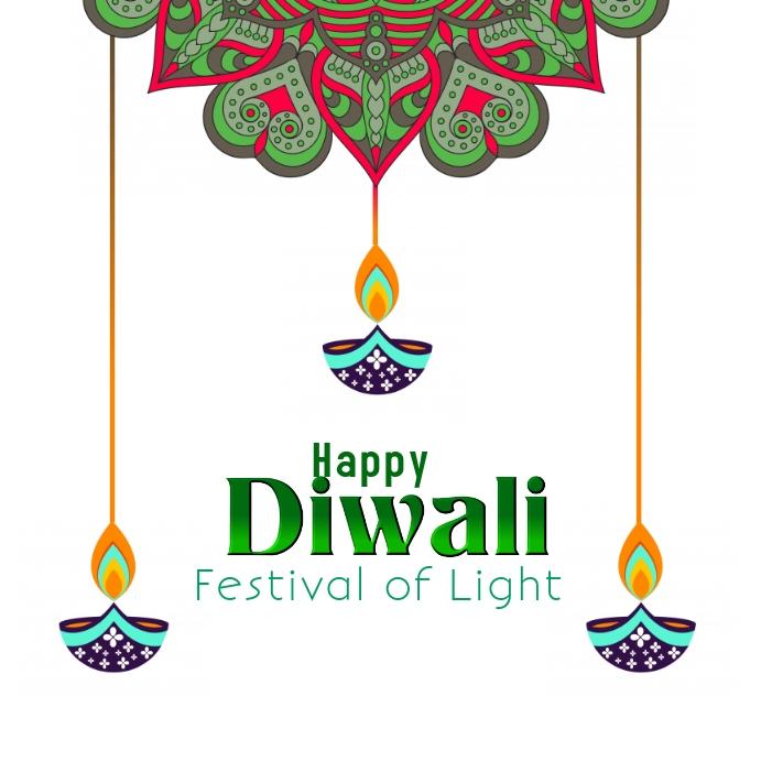 Diwali light festival