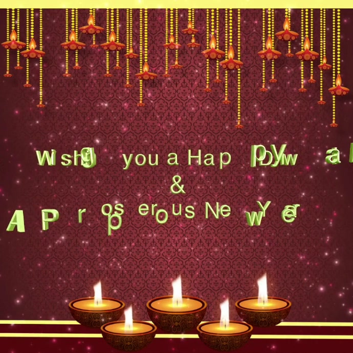 Happy New Year Diwali 92