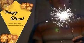 diwali offer delt Facebook-billede template