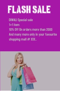 Diwali Offer templates