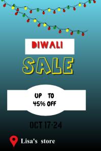 Diwali poster Iphosta template