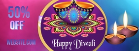 Diwali Cover na Larawan ng Facebook template