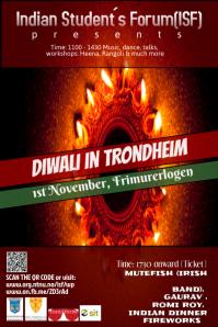 Diwali Poster Template