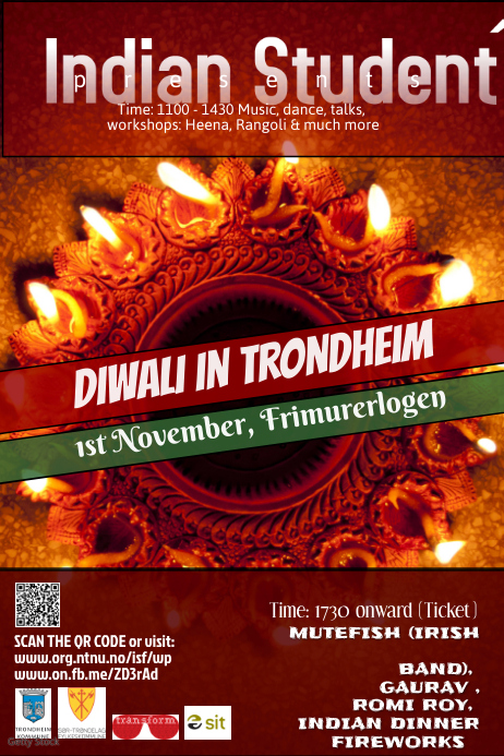 diwali poster templates postermywall