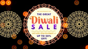 Diwali Retail Sale Offer Video Ad