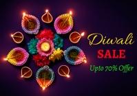 Diwali sale 3 A4 template