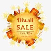 Diwali sale 4 Iphosti le-Instagram template