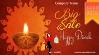 Diwali sale Message Twitter template