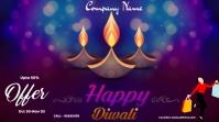 Diwali sale Twitter Post template