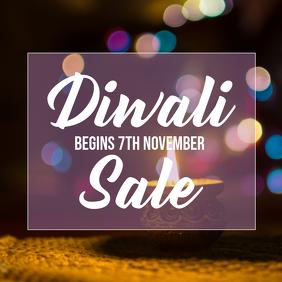 Diwali Sale Instagram Post