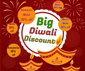 Diwali sale Template