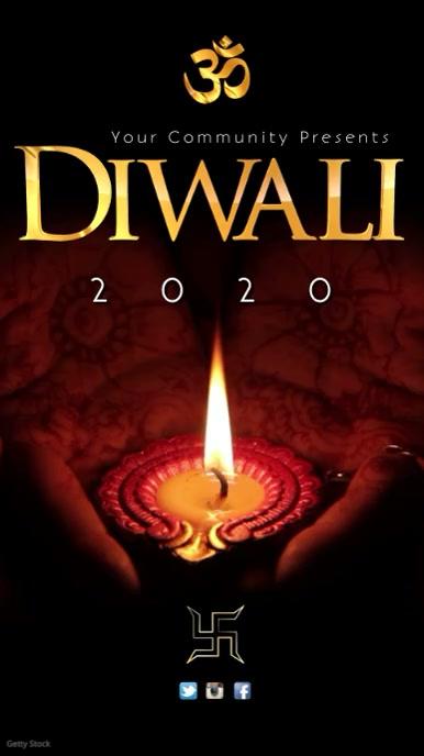 Diwali template