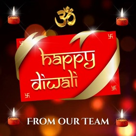 Diwali Video Card