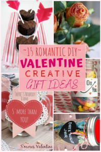 DIY Valentine Log Examples Crafts Gifts