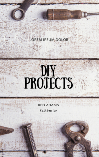 DIY workshop tool book cover template