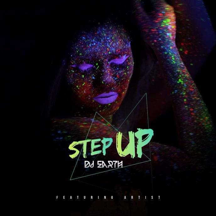 DJ Album Cover Video template