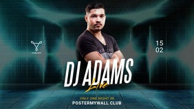 Dj Club Promotion Ad for facebook event