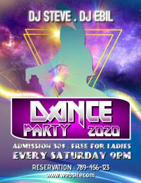 DJ Dance Party Template