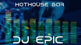 DJ Epic Digital Display (16:9) template