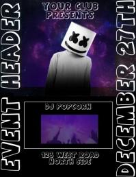 DJ EVENT TEMPLATE
