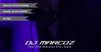DJ Facebook Banner template