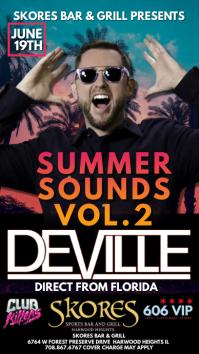 DJ FLYER Pantalla Digital (9:16) template