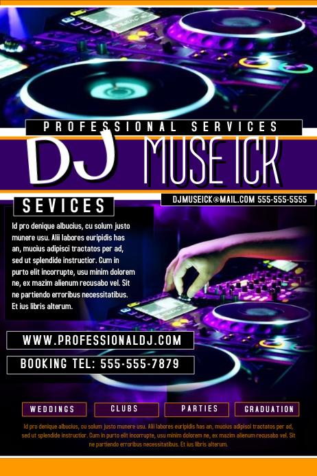 DJ Flyer Template | PosterMyWall