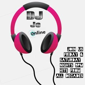 DJ Jo Online Publicación de Instagram template