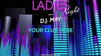 DJ LADIES NIGHT VERSION 2 Pantalla Digital (16:9) template