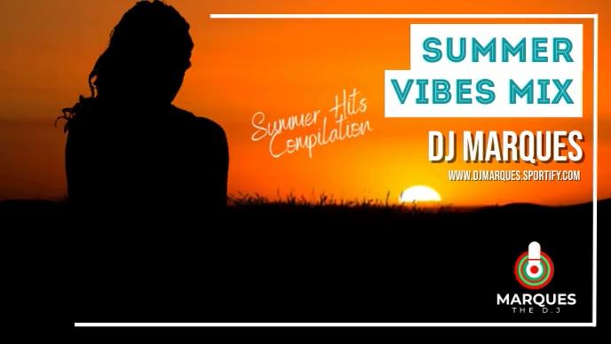 DJ MIX YOUTUBE THUMBNAIL template