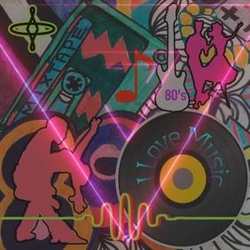 DJ music template