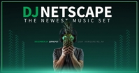 DJ NET SCAPE facebook shared image template
