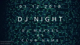 DJ NIGHT - Club Event Flyer