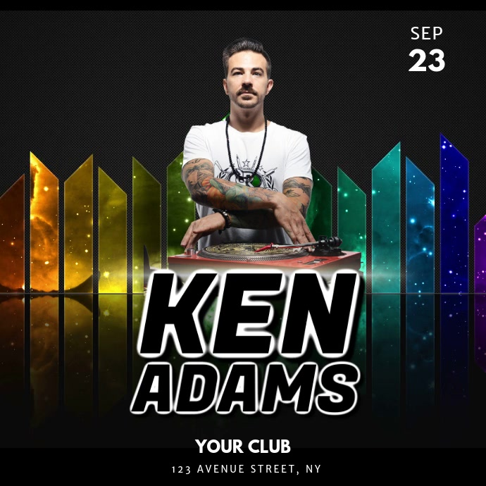 Dj Night Club Party video Template