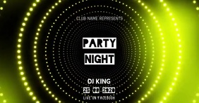 DJ NIGHT Facebook Shared Image template