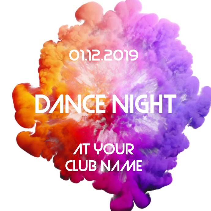 Dj Night Event Flyer