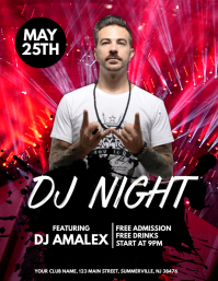 Design Night Club Flyers Free Templates Postermywall