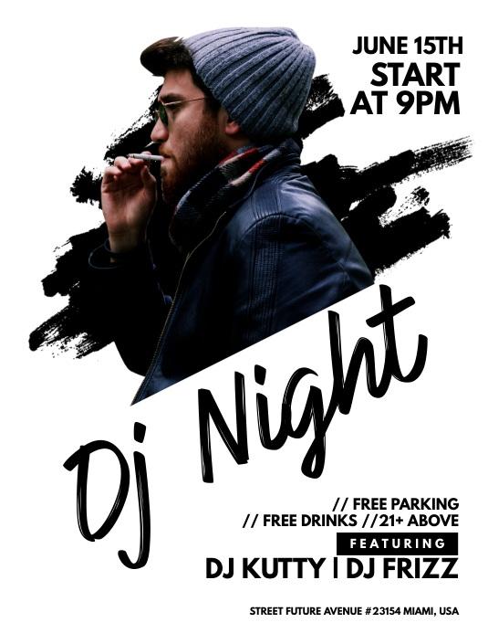 Dj Night Flyer