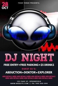 DJ Night Video Poster