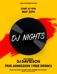 DJ Nights Flyer