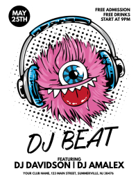 DJ Beat Flyer