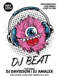 DJ Beat Flyer