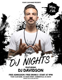 DJ Nights Flyer