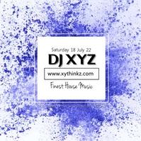 DJ Party Advert Splash Flyer Artist Event City Club Bar
